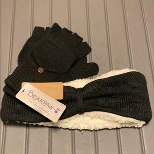 BearPaw Hate and Glove Set